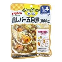 ピジョン 食育レシピ 鉄Ca 鶏レバー五目煮 120g