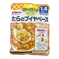 ピジョン 食育レシピ 鉄Ca たらのブイヤベース 120g