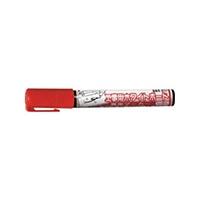 工事用ホワイトボード専用マーカー WBM8-H 赤