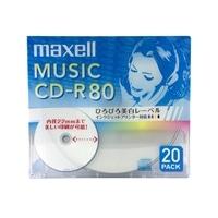 マクセル CD−R CDRA80WP.20S
