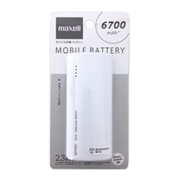 マクセル モバイル充電バッテリー MPC-C6700PWC
