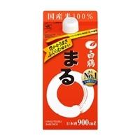 白鶴 サケパック まる 900ml【別送品】