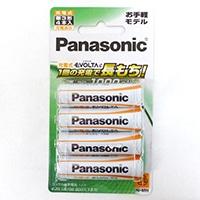 パナソニック エボルタ 充電池 BK-3LLB/4B
