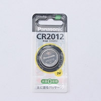 パナソニック コイン型リチウム電池CR-2012