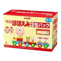 明治 ほほえみ 2缶パック 粉ミルク