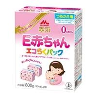 森永 E赤ちゃん エコらくパック つめかえ 粉ミルク