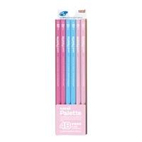 三菱 ユニパレット鉛筆 ダース 4B ピンク