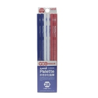 三菱 ユニパレット かきかた鉛筆 2B ブルー 12本入り