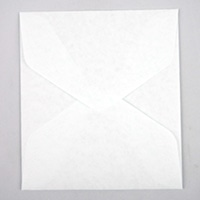 ミドリ カラー色紙包み 白