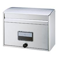 大型ダイヤル錠付      ステンレスポスト     MYL-600