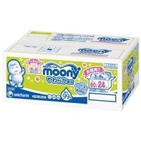 【ケース販売】ムーニー おしりふき やわらか素材 詰替 80枚×24個入【別送品】