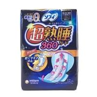 ソフィ 超熟睡ガード360 特に多い夜用 羽つき 36cm 12枚