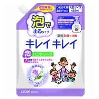 ライオン キレイキレイ 薬用泡ハンドソープ フローラルソープの香り 詰替 450ml