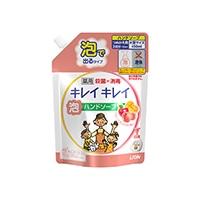 ライオン キレイキレイ 薬用泡ハンドソープ フルーツミックスの香り 詰替 450ml