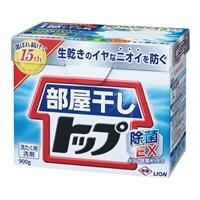 ライオン 部屋干しトップ 除菌EX 900g 洗濯用粉洗剤