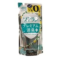 【数量限定】ライオン ソフラン プレミアム消臭プラス フルーティグリーンアロマの香り つめかえ 480ml 衣料用柔軟剤