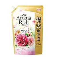 【数量限定】ソフラン アロマリッチ 詰替特大 ダイアナロイヤルローズアロマの香り 1210ml