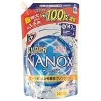 【数量限定】ライオン トップ スーパーNANOX 詰替 1400g