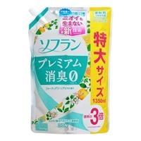 ライオン ソフラン プレミアム消臭 フルーティグリーンアロマの香り 詰替 特大 1.35L