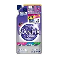 ライオン トップ スーパーNANOX ニオイ専用 詰替 350g