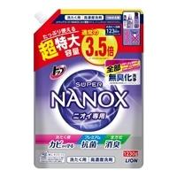 ライオン トップ スーパーNANOX ニオイ専用 詰替 超特大 1230g