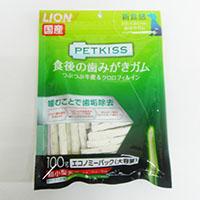 PETKISS 食後の歯みがきガム 超小型犬用 エコノミーパック 100g