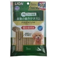 PETKISS 食後の歯みがきガムプレミアム超小型犬用7本