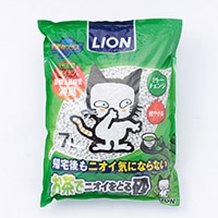猫砂 LION お茶でニオイをとる砂 7L