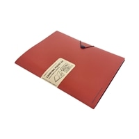 リヒト キャリングポケット A4サイズ オレンジ F7528