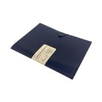 リヒト キャリングポケット A4サイズ ネイビー F7528