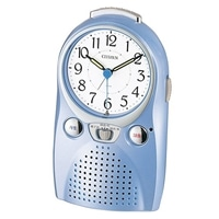 CITIZEN 目覚し時計 伝言ルージュW 音声録音 4SE521-004