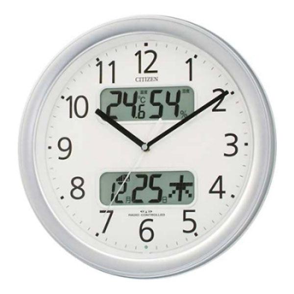 シチズン 電波掛時計ネムリーナカレンダーM01