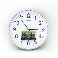 電波掛時計 インフォームナビS