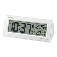 【数量限定】シチズン 電波目覚し時計 パルデジットピュア 153