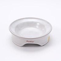 猫専用陶器食器 ドライフード向き 猫としっぽ