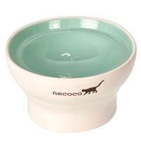 NECOCO脚付き陶器食器 ウェットフード向き