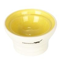 NECOCO脚付き陶器食器 ドライフード向き