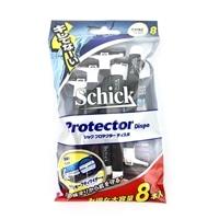 シック Schick×CAINZ プロテクターディスポ 使い捨てかみそり 8本入