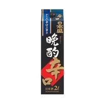 日本盛 晩酌辛口 パック 2000ml【別送品】