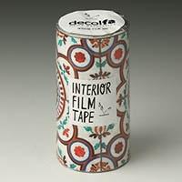 インテリアフィルムテープ 100mm タイル/イエロー