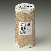 インテリアフィルムテープ 100mm レース/ゴールド