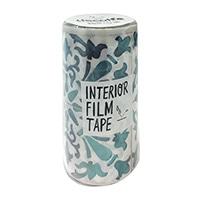 インテリアフィルムテープ 100mm タイル/ブルー