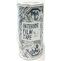 インテリアフィルムテープ 100mm タイル/シルバー
