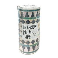 インテリアフィルムテープ 100mm タイル/イエローG