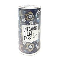 インテリアフィルムテープ 100mm シノワズリ/ブルー