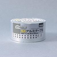 ニトムズ 光沢アルミテープ 総厚0.1mm×幅50mm×長さ10m