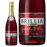 サントネージュ スパークリングワイン ブリリア 赤 720ml【別送品】