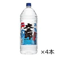 【ケース販売】アサヒ 大五郎 25度 4000ml×4本【別送品】