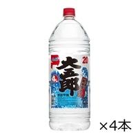 【ケース販売】アサヒ 大五郎 20度 4000ml×4本【別送品】
