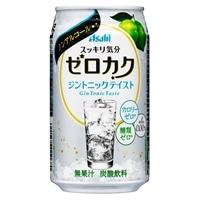 【ケース販売】アサヒ ゼロカク ジントニック 350ml×24本【別送品】